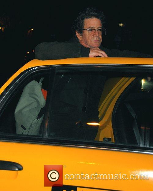 Getting into a taxi after dining at The...