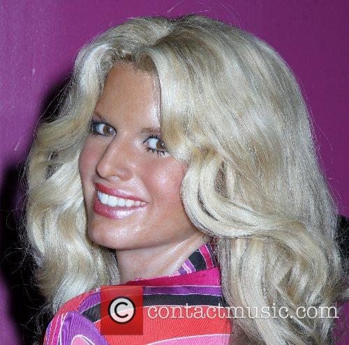 Jessica Simpson wax figure arrives at Madame Tussaud...