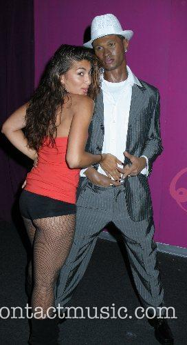 Usher wax figure arrives at Madame Tussaud to...