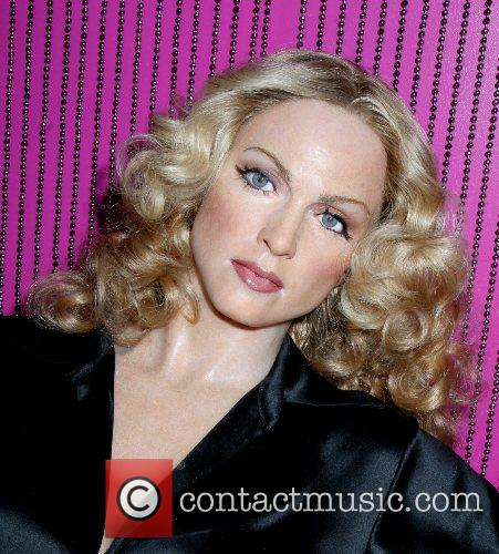 Madonna wax figure arrives at Madame Tussaud to...