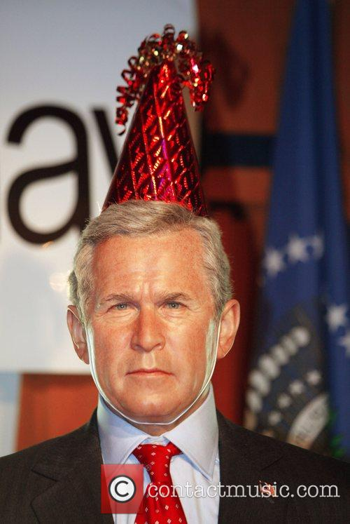 U.S. President George W. Bush wax figure Madame...