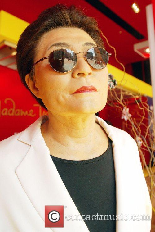 Yoko Ono wax figure Madame Tussauds imported the...