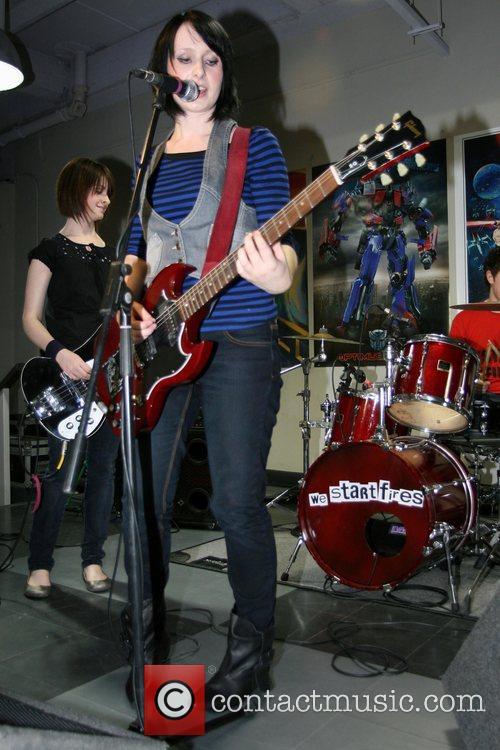 Nikki Vaughan, Becky Stefani and Ashley Wade We...