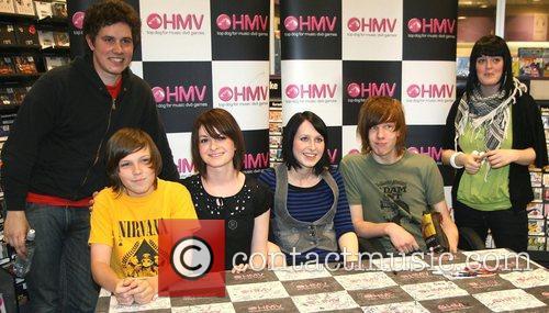 Ashley Wade, Nikki Vaughan, Becky Stefani and Melissa...