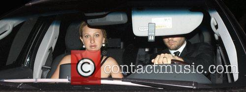 Tobey Maguire and His Wife Jennifer Meyer Leaving A Wedding Held At The Oviatt Hotel 5