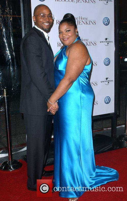 Mo'nique and Husband Mark Jackson 1