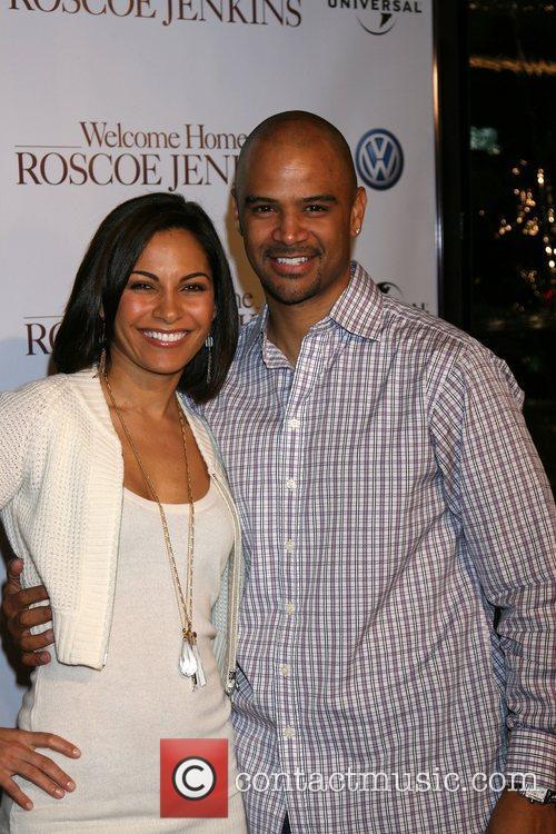 Salli Richardson and Husband Dondre T. Whitfield 2