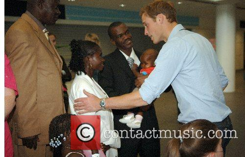 Prince William meets Sandra Tagica who met Princess...