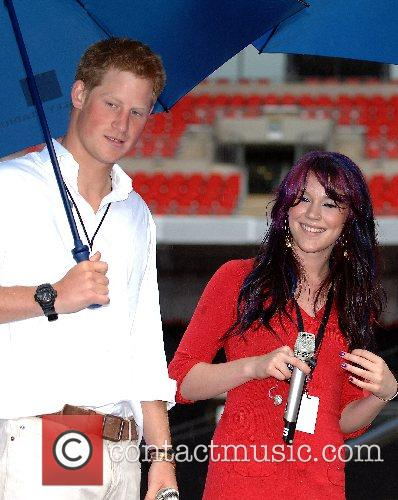 Prince Harry, Wembley Stadium