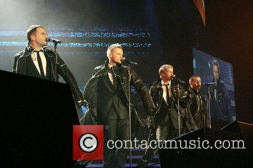 Westlife and Wembley Arena 6