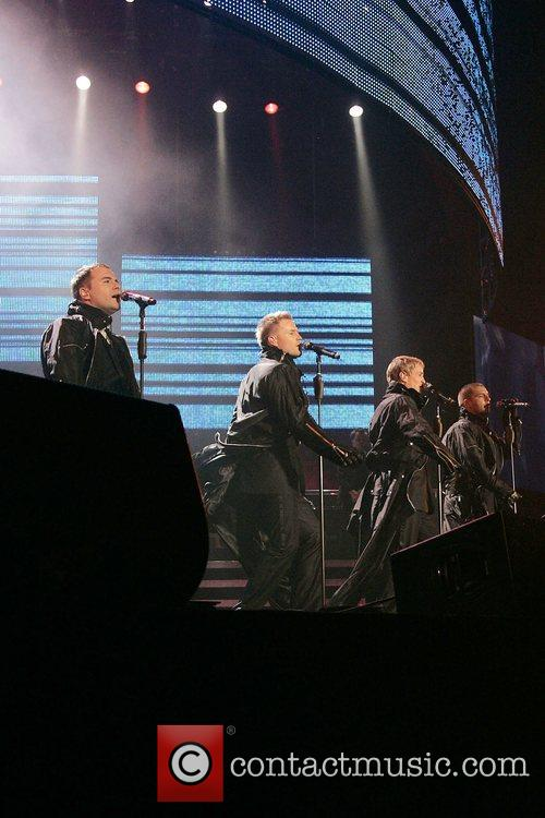 Westlife and Wembley Arena 9