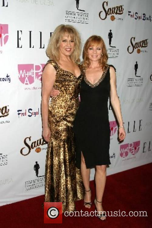 Diana Harris and Marg Helgenberger 'What A Pair!...