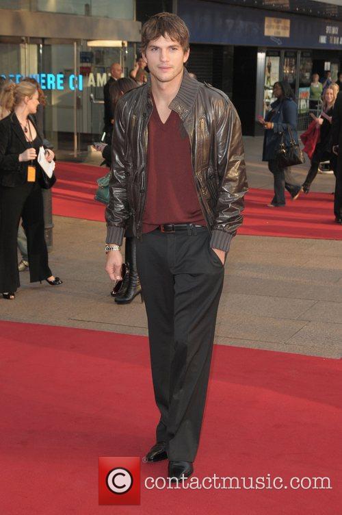 Ashton Kutcher UK film premiere of 'What Happens...
