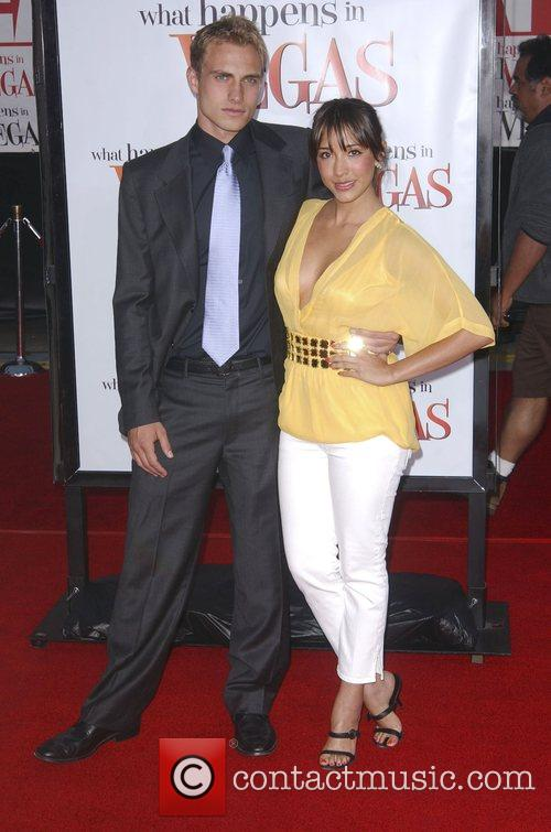 Billy Marquet and Fernanda Romero Los Angeles premiere...