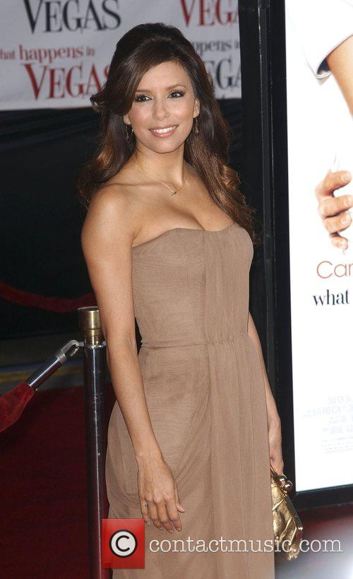 Eva Longoria Los Angeles premiere of 'What Happens...