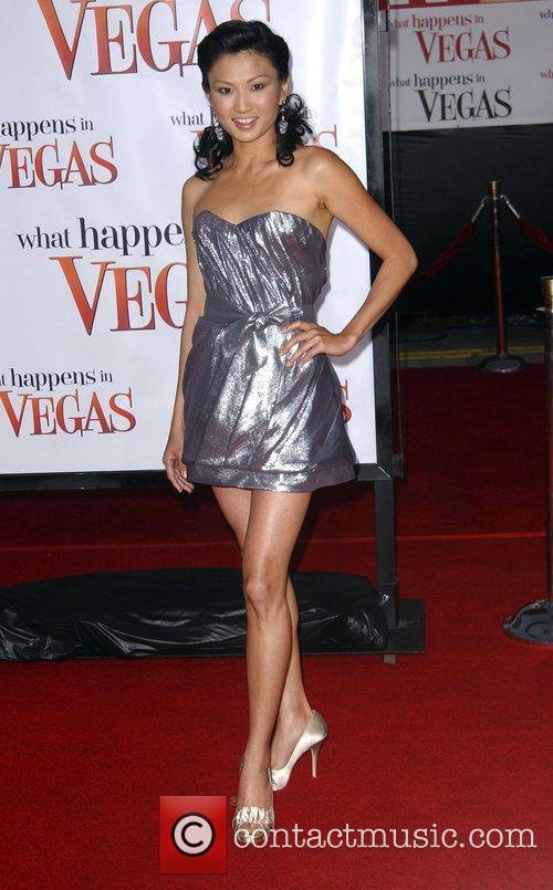 Michelle Krusiec Los Angeles premiere of 'What Happens...