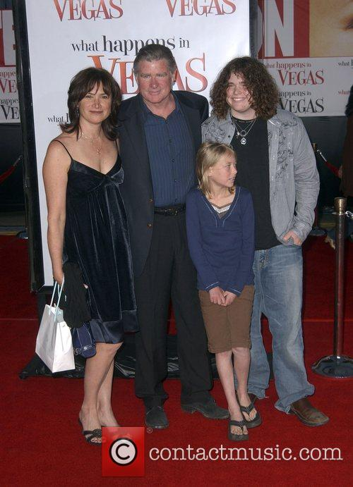 Treat Williams with his wife Pam Van Sant,...
