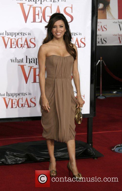 Eva Longoria-Parker Los Angeles premiere of 'What Happens...