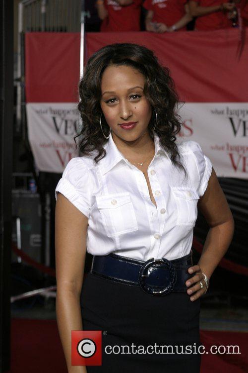 Tamera Mowry Los Angeles premiere of 'What Happens...