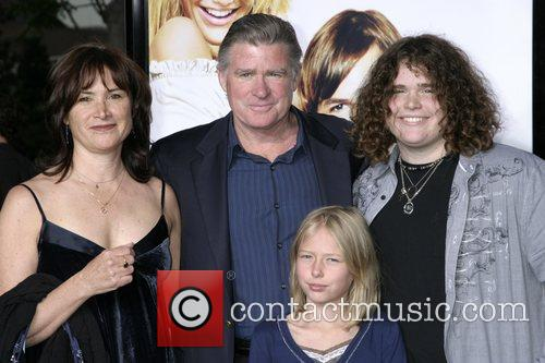 Treat Williams and Family Los Angeles premiere of...