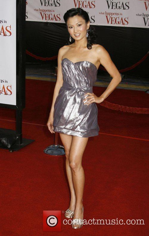 Michelle Krusiee Los Angeles Premiere of 'What Happens...