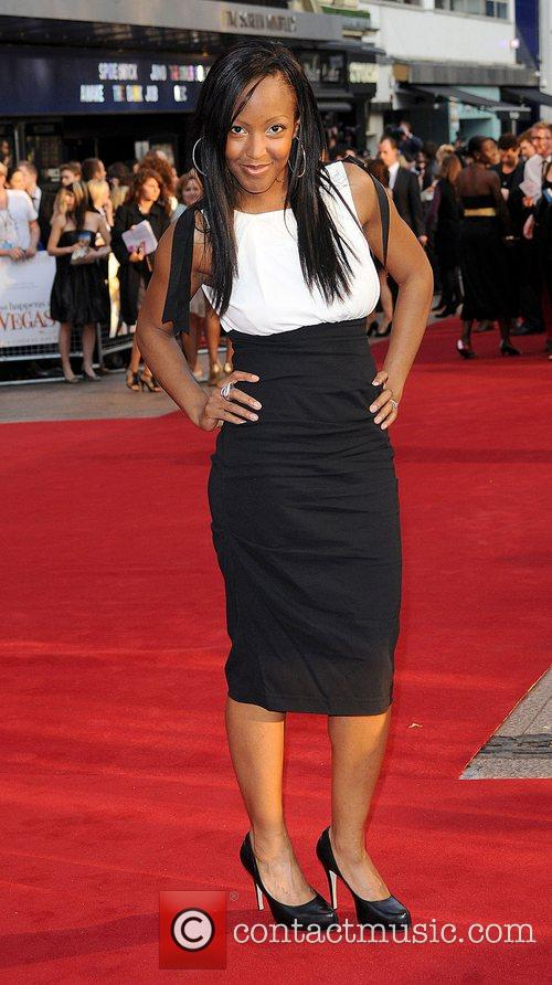 Angelica Bell UK film premiere of 'What Happens...