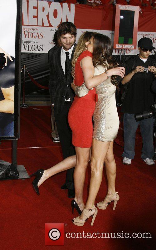 Cameron Diaz and Ashton Kutcher Los Angeles Premiere...
