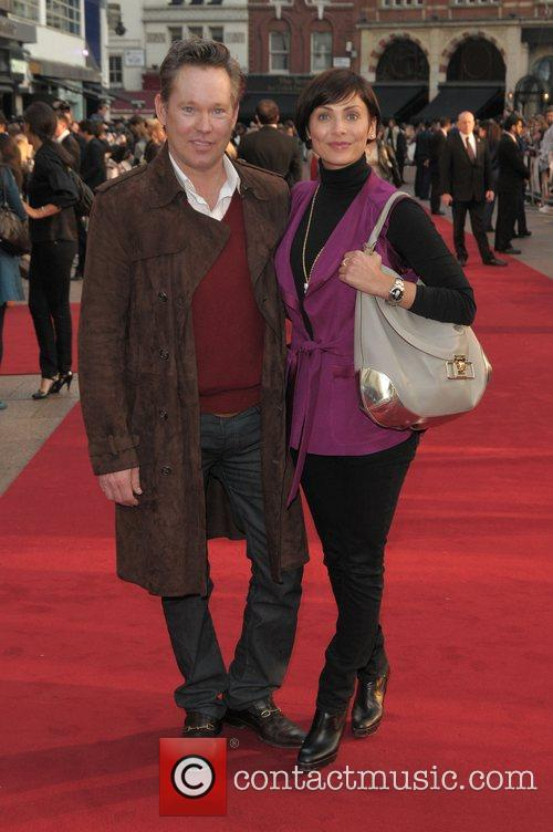 Natalie Imbruglia and guest at the UK film...