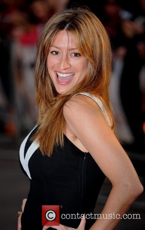 Rebecca Loos at the premiere of 'What Happens...