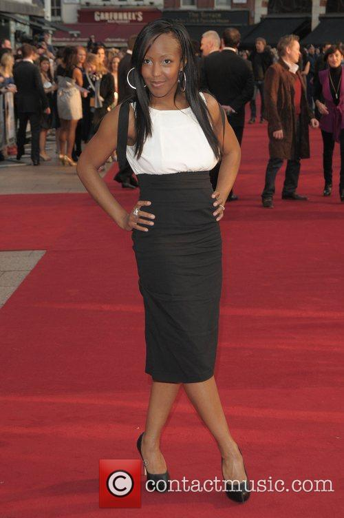 Angellica Bell at the UK film premiere of...