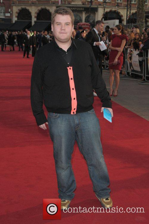 James Corden at the UK film premiere of...