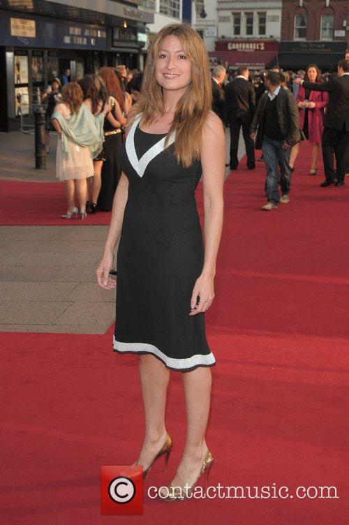 Rebecca Loos at the UK film premiere of...