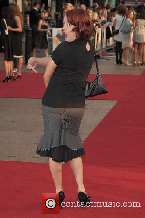 Sarah Cawood at the UK film premiere of...