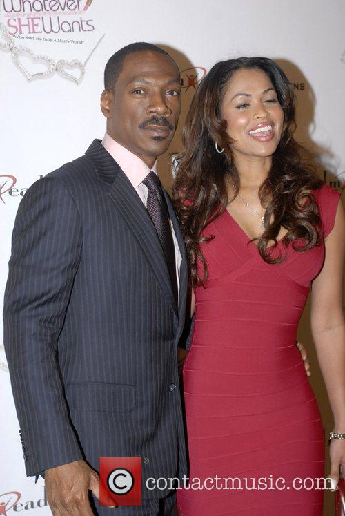 Eddie Murphy, Tracey Edmonds, Hollywood And Highland