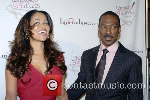 Tracey Edmonds, Eddie Murphy, Hollywood And Highland