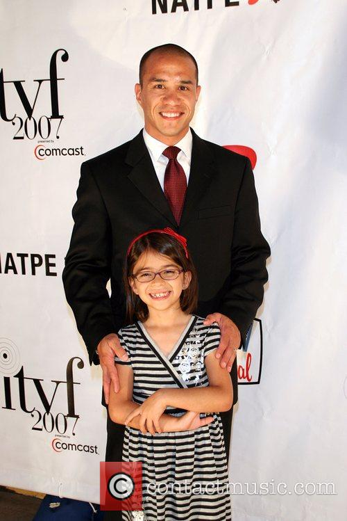 Kevin Viagas and daughter Isabelle Viagas 'When Giants...