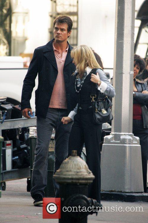 Josh Duhamel and Kristen Bell 9