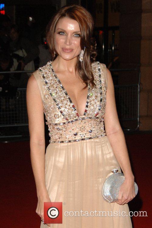 Dannii Minogue UK film premiere of 'White Diamond'...