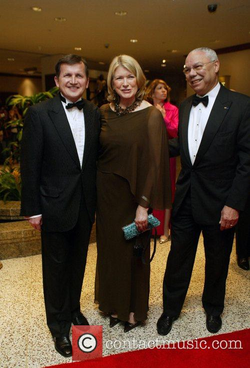 Guest, Martha Stewart and Colin Powell White House...