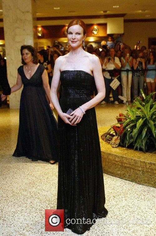 Marcia Cross White House Correspondents' Association dinner at...