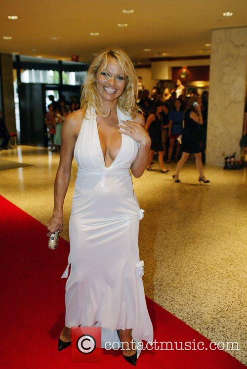 Pamela Anderson White House Correspondents' Association dinner at...