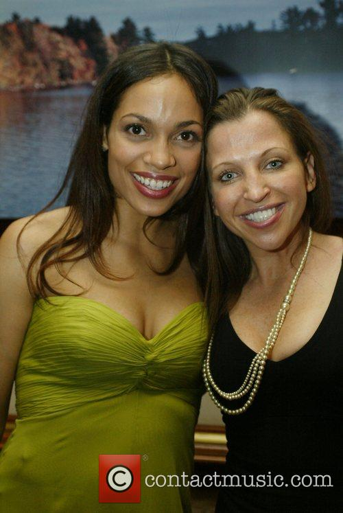 Rosario Dawson and guest White House Correspondents' Association...