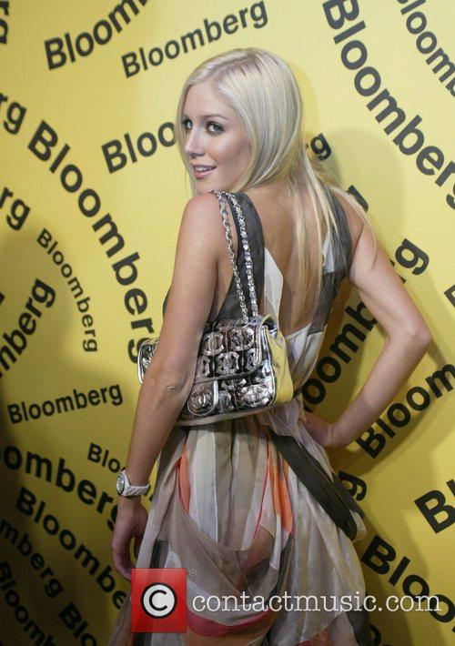 Heidi Montag Bloomberg after party for the White...