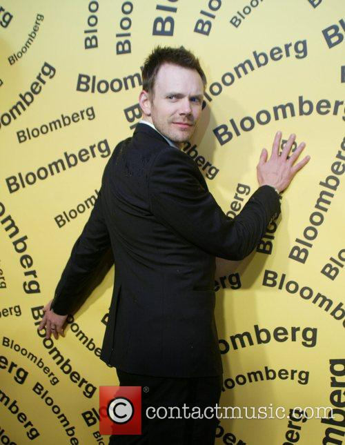 Joel McHale Bloomberg after party for the White...