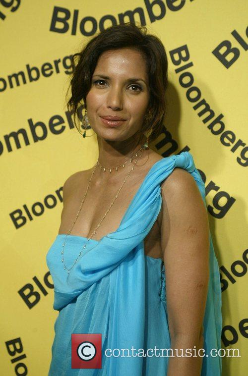 Padma Lakshmi Bloomberg after party for the White...