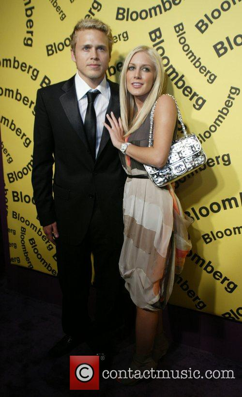 Spencer Pratt and Heidi Montag Bloomberg after party...