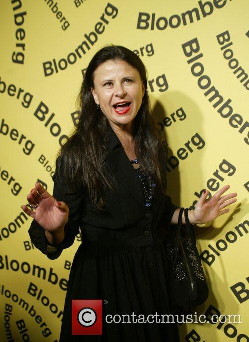 Tracey Ullman Bloomberg after party for the White...