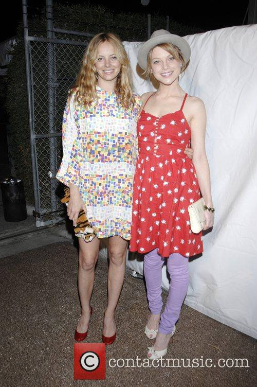 Bijou Phillips and Lauren German 2