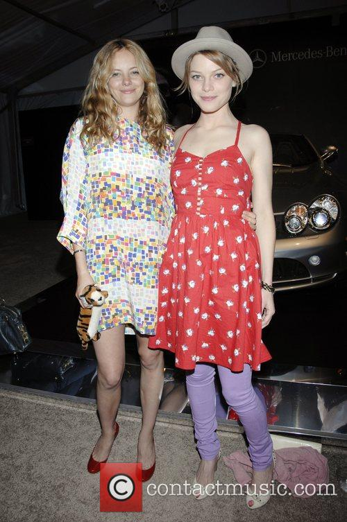Bijou Phillips and Lauren German 1