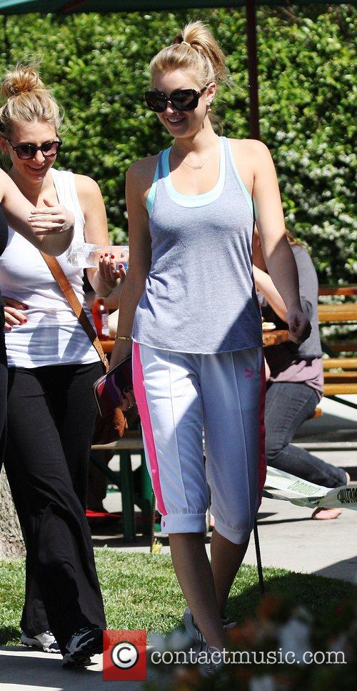 Whitney Port 'The Hills' star out and about...